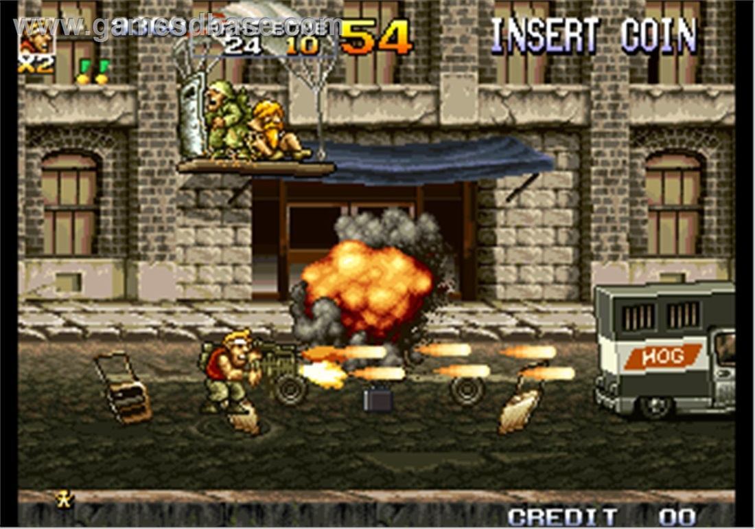 Metal Slug Review - Level Gaming Ground