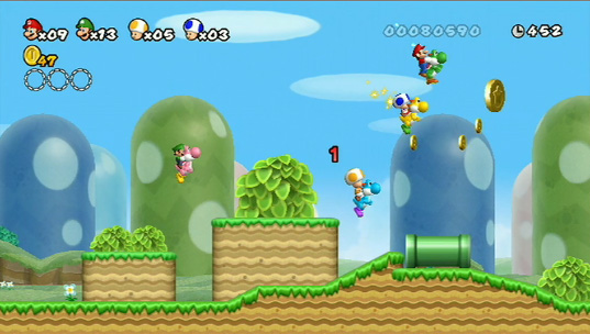 New Super Mario Bros  Wii Review - Level Gaming Ground